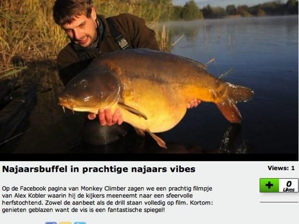 Vrijdagmiddag update Karperfilmpjes.nl