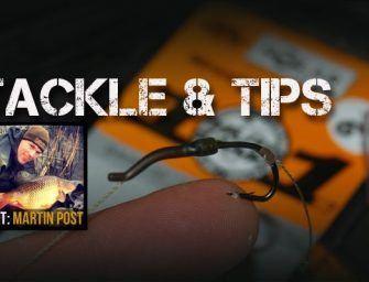 Tackle & Tips met Martin Post – April