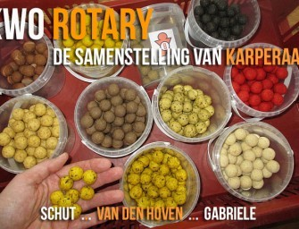 KWO Rotary – De samenstelling van karperaas
