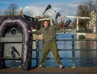 Jan Boekschoten winnaar Raptorboat met electromotor