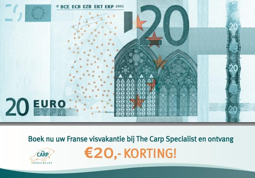 Karpervissen in Frankrijk begint bij The Carp Specialist!