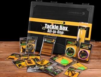 WIN een goed gevulde Strategy tacklebox