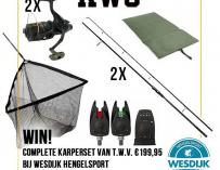 Scherp geprijsde karpersets bij Hengelsport Wesdijk + WINACTIE