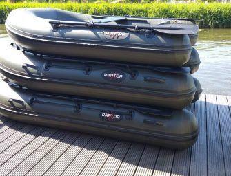 Vakantiegeld stunts bij Raptorboats