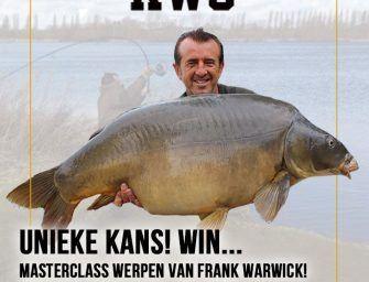 WIN een werpclinic van Frank Warwick
