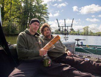 Franse rivierbakken: de boot in met Boudewijn en Wouter