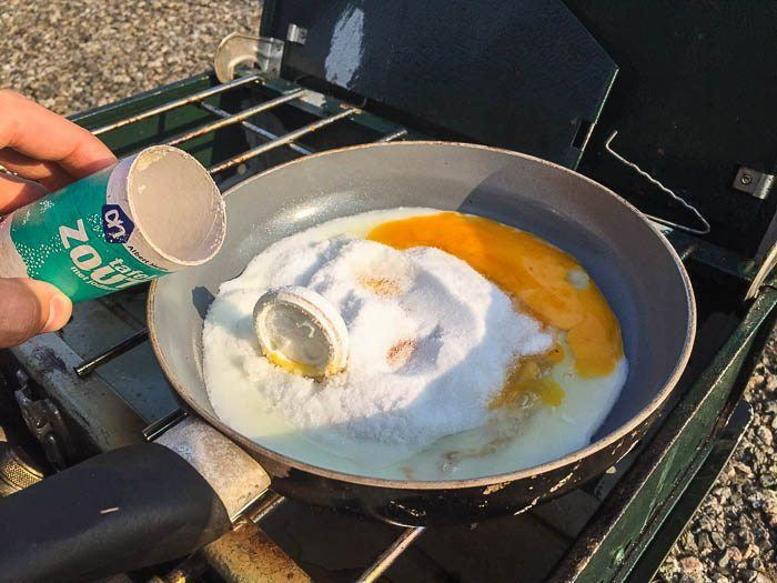 Nemen alles met een korreltje zout, net als het ontbijt ;-)