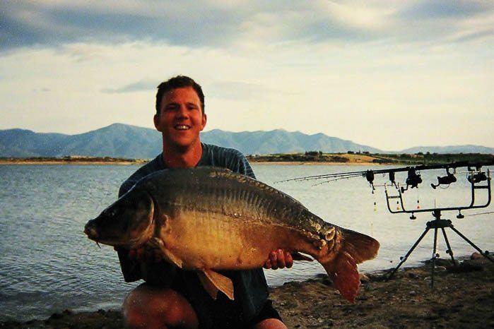 De grootste vis van de trip; Mijn eerste Franse dertiger!