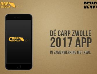 Download de GRATIS Carp Zwolle App NU!