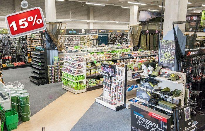 Zaterdag 31 maart: spectaculaire open dag bij Hengelsport Utrecht