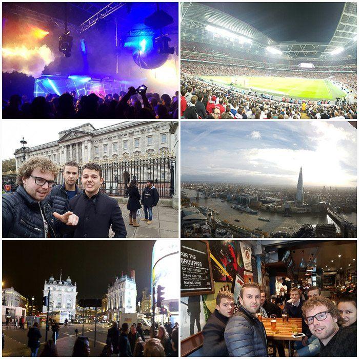 Het was een geweldige ervaring in Londen!
