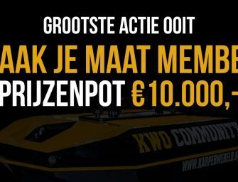 Maak je maat Member – €10.000 winactie