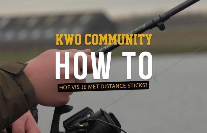 Secuur vissen met behulp van distance sticks – KWO How To Video