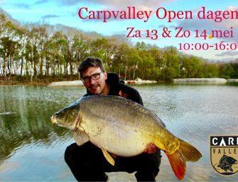 Upcoming: open dagen Carpvalley op 13 en 14 mei