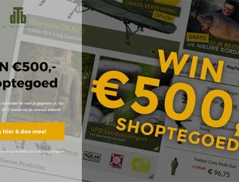 WIN €500,- shoptegoed bij De Tacklebox