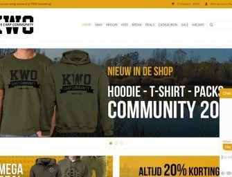 Check de vernieuwde KWO Webshop