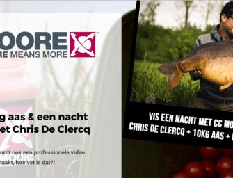 CC Moore competitie: WIN een vissessie + aaspakket