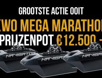 KWO Mega Marathon voor alle KWO Members! €12.500,- aan prijzen