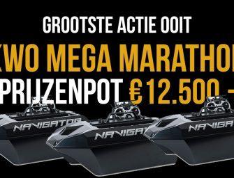 De KWO MEGA MARATHON – €12.500 Prijzenactie met 3 Navigator Baitboats