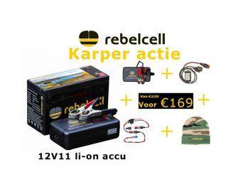 Vakantievoordeel bij Rebelcell