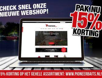 Summer Sale bij Pioneer Baits: 15% korting!