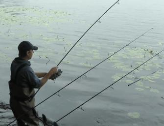 Karpervissen op grootwater met Boudewijn – Deel 3