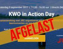*AFGELAST* de eerste KWO in Action Day op zaterdag 9 september 2017
