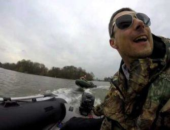 Extreme rivier visserij met Edwin Otte