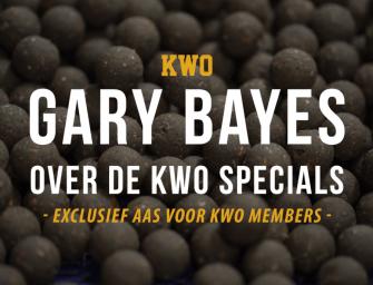 Gary Bayes over de KWO Specials – de boilie voor Members