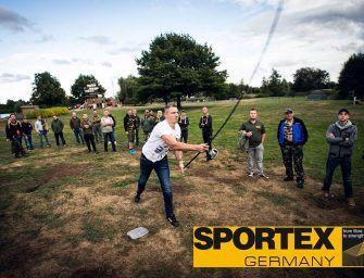 Sportex hoofdsponsor van de Casting Games op de Benelux Carp Qualifier