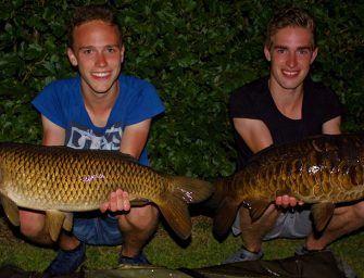 Een geslaagde visvakantie voor Tim Beijersbergen