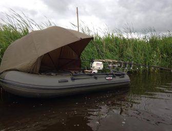 Bootvissen in de polder met Ronald van der Riet