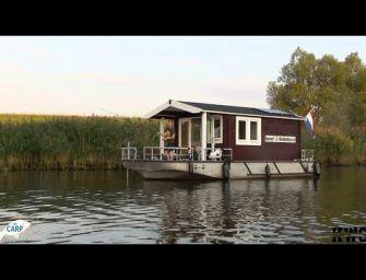 KWO op bezoek bij de Blokhutboot in de Biesbosch