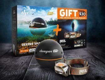 Scoor een gratis Petzl hoofdlamp bij de aanschaf van een Deeper Pro+