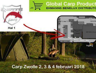 Megadeals + toffe winactie bij Global Carp Products op Carp Zwolle!