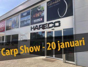 Zet 'm in je agenda: Hareco's Carp Show op 20 januari!