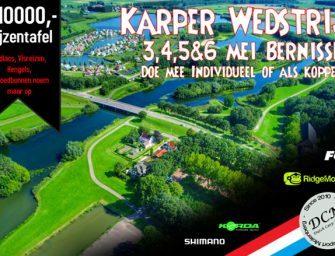 Upcoming: karperwedstrijd van Hengelsport Molenberg op de Bernisse