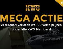 KWO Mega Winactie – 100 Members winnen een vette prijs!