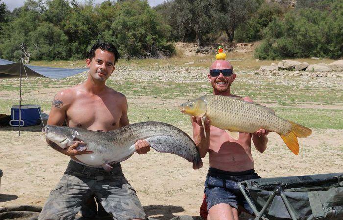 Zomervissen op de Ebro met Bas van den Hul