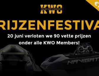 KWO Member Only Prijzenfestival: 90 winnaars verdelen €10.000 aan prijzen!