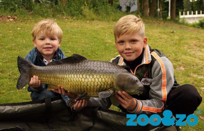 Deze zaterdag: Jeugdcursus 'Zoo leer je vissen' bij ZOO&ZO
