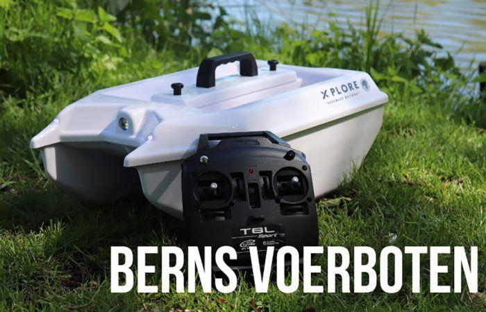 Compact en betrouwbaar: Xplore Handmade Baitboats van Berns Voerboten