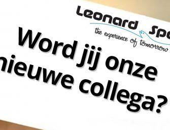 Vacature in de hengelsport: Leonard Sports zoekt vertegenwoordiger!