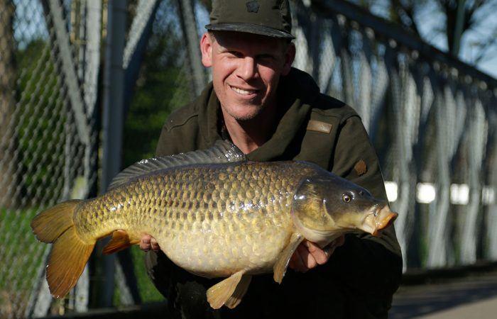 2 dagen karpervissen met Alan Blair in Nederland