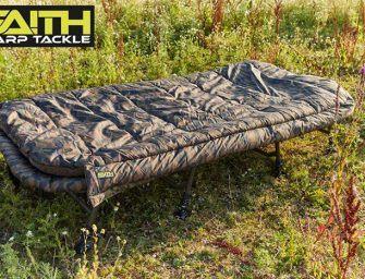 WIN: een Bed & Sleep System XXL 8-Leg van Faith Carp Tackle