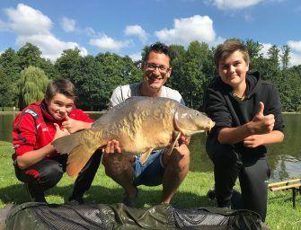 PARKVISSEN met jeugdige strijders – Michiel Pilaar & Carplevel Bart