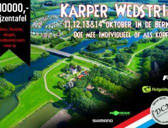 SCHRIJF JE NU IN! – Karperwedstrijd Hengelsport Molenberg