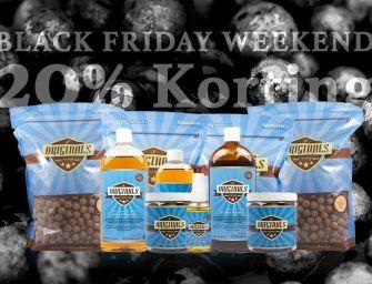 Originals Black Friday Weekend met 20% KORTING