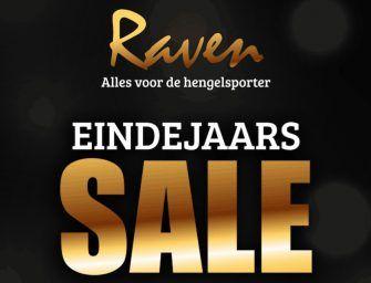 20 tot 70% korting bij Raven – EINDEJAARS SALE