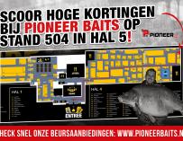 Pak je voordeel bij Pioneer Baits @ Carp Zwolle!